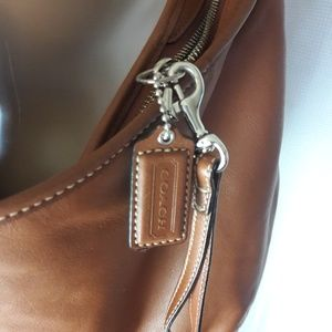 Coach Bags - Coach brown leather hobo bag